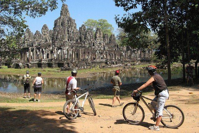 Angkor biking