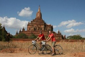 Bagan-biking