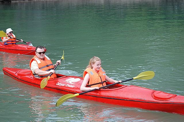 Calypso Cruies Kayaking