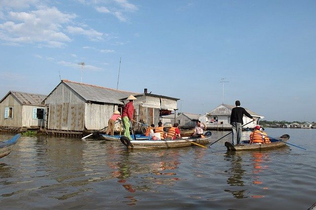 ChauDoc Floating Village