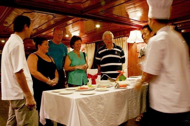 Golden Lotus Cruise Cooking Class