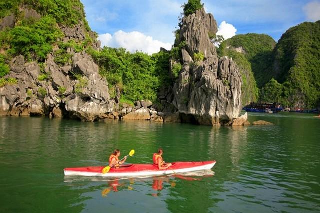 Golden Lotus Cruise Kayaking