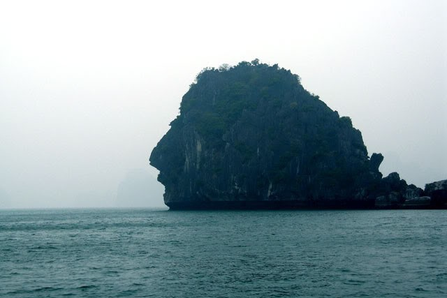 Halong Man's Head Islet