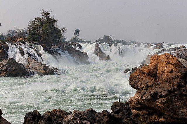 Laos Khong Island