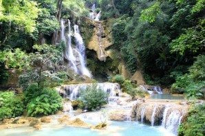 KuangSi_Waterfall