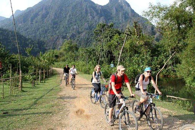 Laos cycling