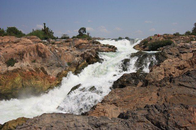 Laos LiPhi waterfall