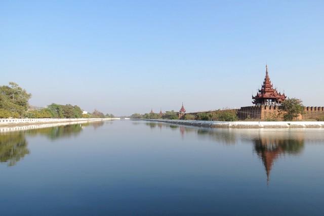 Myanmar Mandalay Palace