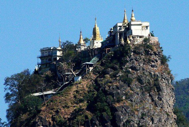 Myanmar Mt.Popa