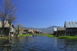 Heho Town in Myanmar