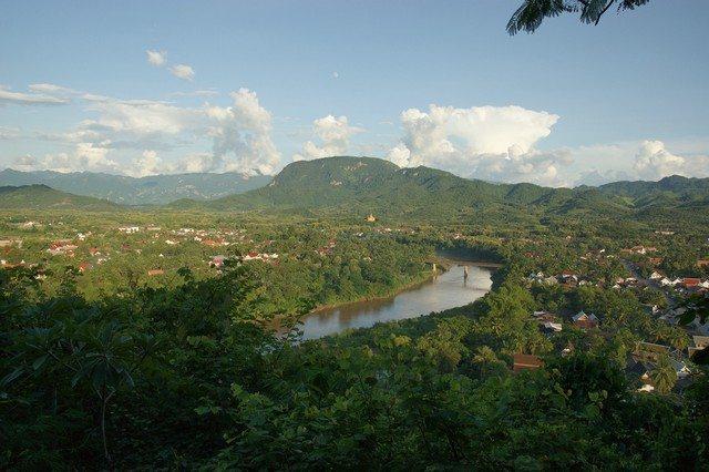 Laos Nam Khan river