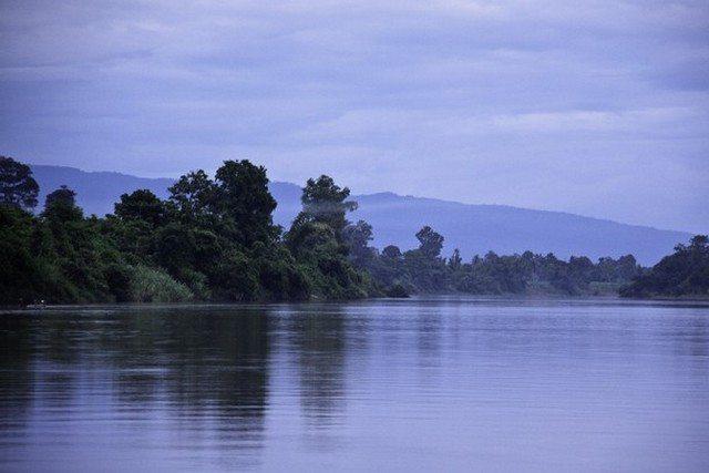 Laos Nam ngum lake