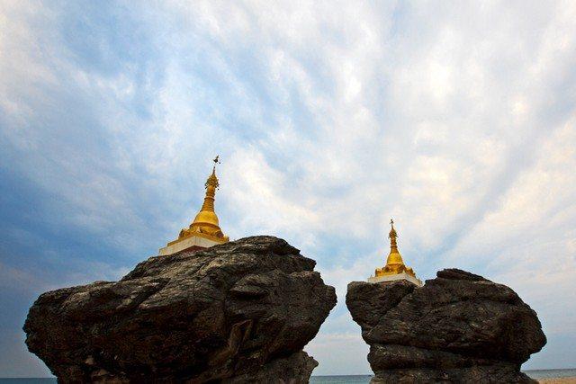 Myanmar  NgweSuang Beach 1
