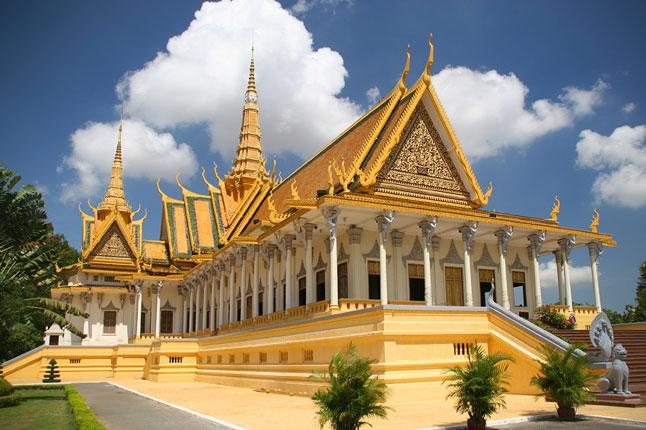 Phnompenh Royal palace