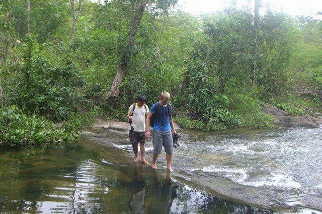 Laos Phou Khao national park