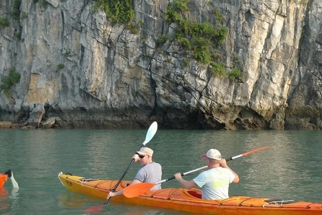 Red Dragon cruises Kayaking