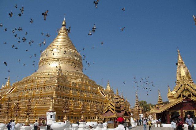 Myanmar Shwezigon Paya Bagan