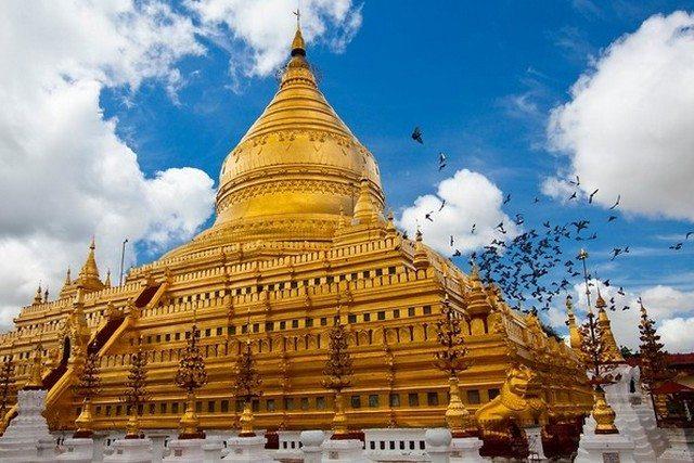 Myanmar Shwezigon temple