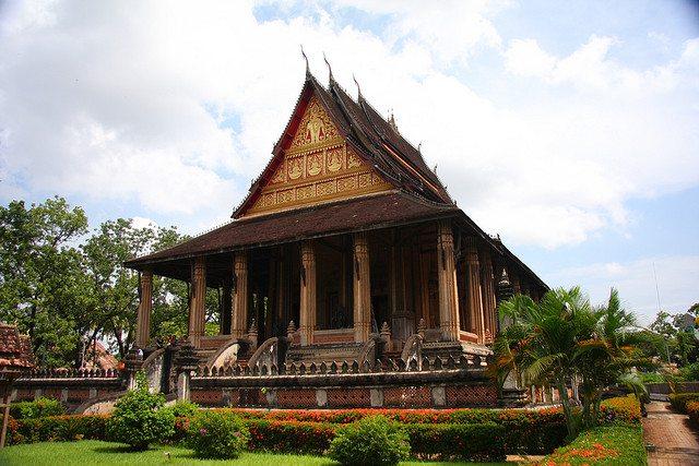 Laos Wat Prakeo