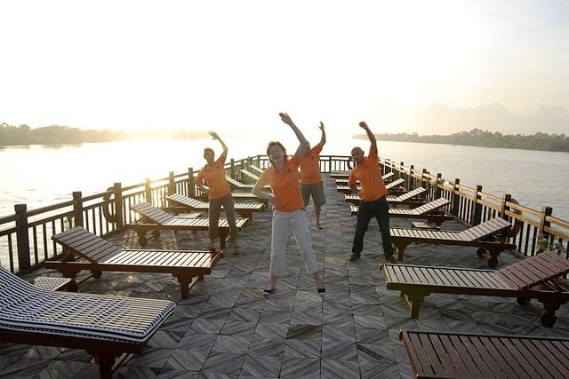Mekong Eyes Cruise Tai chi
