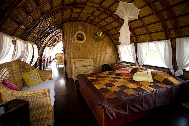 Song Xanh Mekong Cruise Cabin
