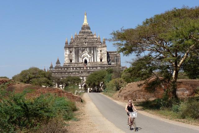 Bagan biking 1