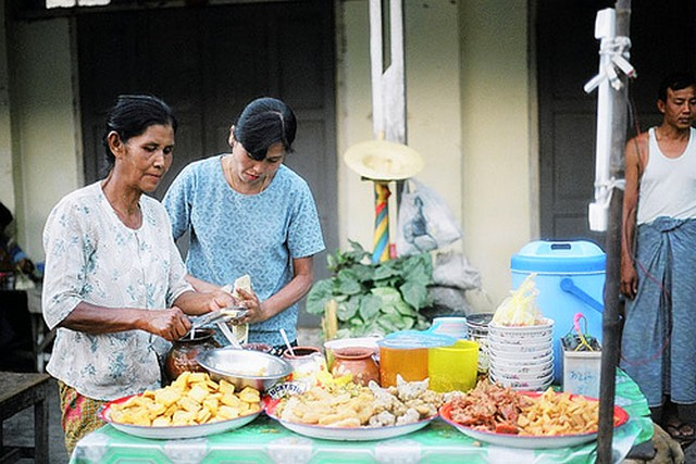 Myanmar Traditional Shan Snack