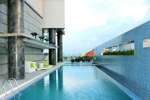 Pullman saigon centre hotel tnk travel - Pullman central park swimming pool ...