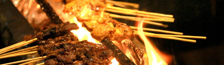 Street Food Chicken Satay