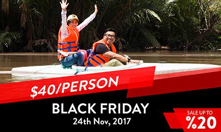 Black Friday Cai Be floating market - Tan Phong Island