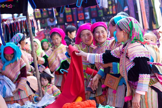 Visit Love market is one of the best things to see and do in Sapa