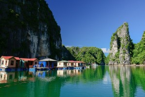 Vung Vieng fishing village in Ha Long