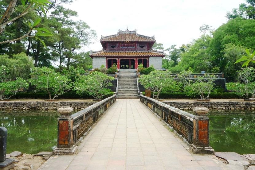 Emperor Minh Mang's Mausoleum in Vietnam