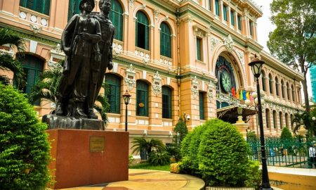 Saigon central post office in Ho Chi minh city