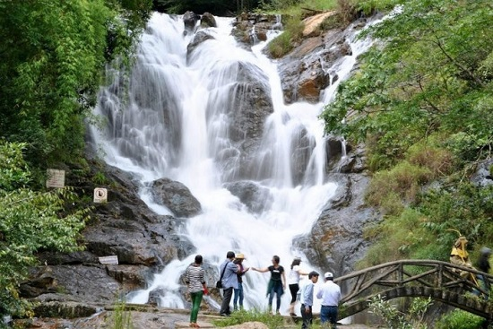 Datanla Waterfall is one of the most-visited tourist attractions in Da Lat