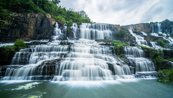 Pongour Waterfall in Da Lat