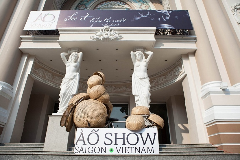 A O show in Ho Chi Minh city