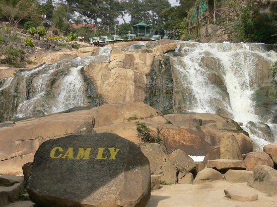 Cam Ly waterfall in Da Lat