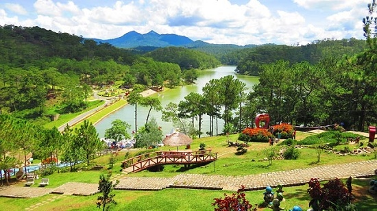 Valley of Love is one of the top places to visit in Da Lat