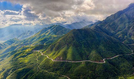 O Quy Ho Pass in Lao Cai Vietnam