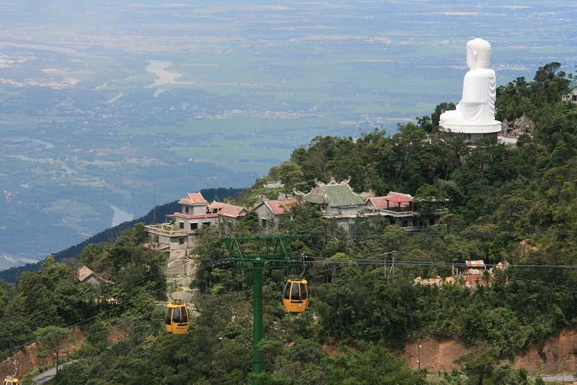 Linh Ung pagoda in Ba Na hills