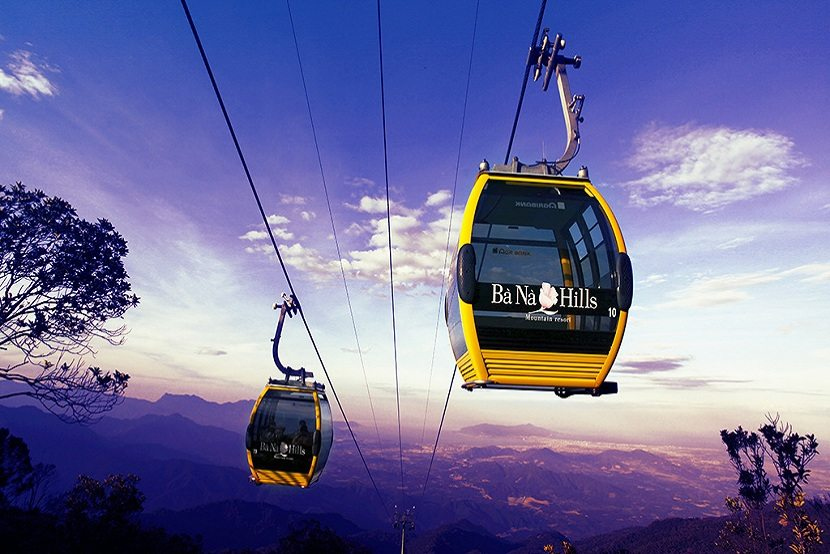 cable car system in ba na hills