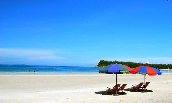 Quan Lan island in Halong Bay