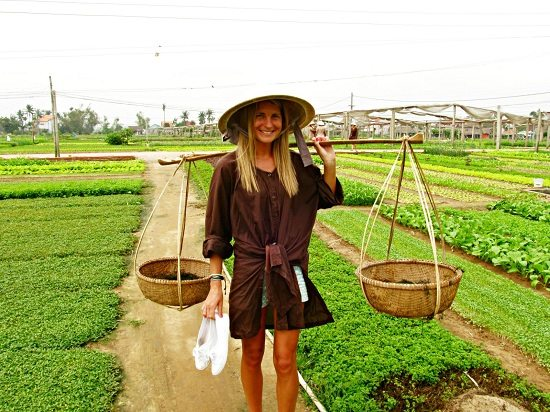 Tra Que herb village in Hoi An