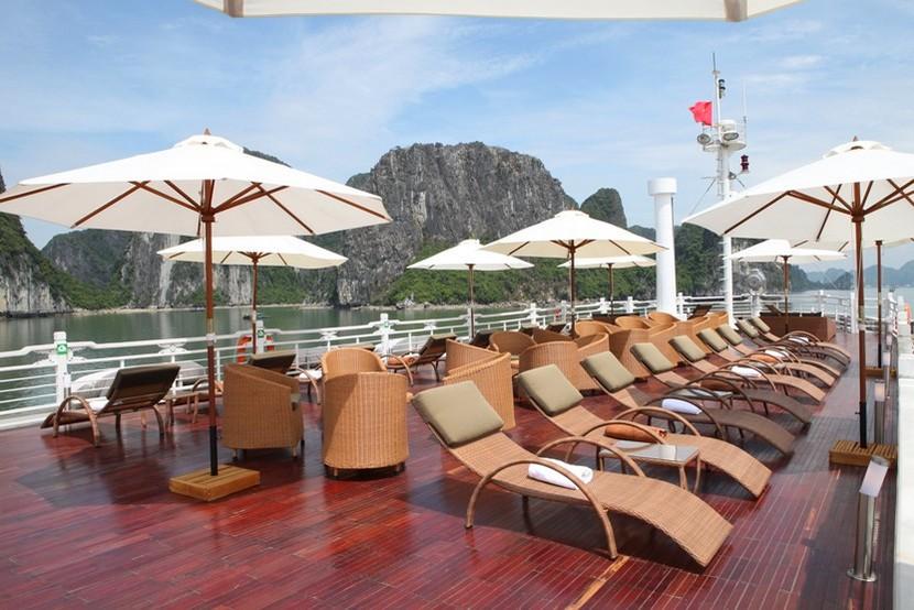 Au Co Cruise Halong Bay Sundesk