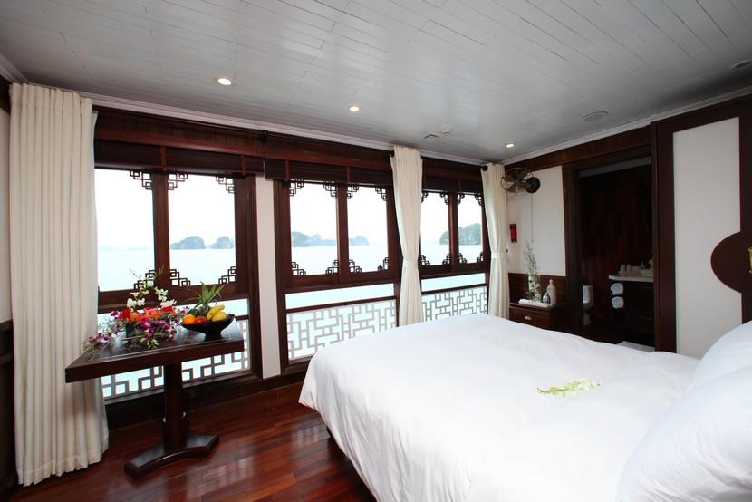 Au Co Cruise Halong Bay Cabin