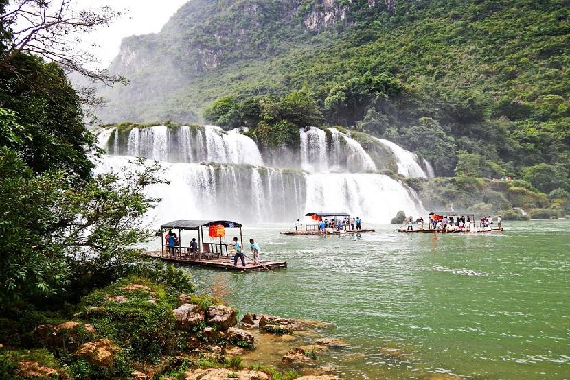 Ban Gioc Waterfall2