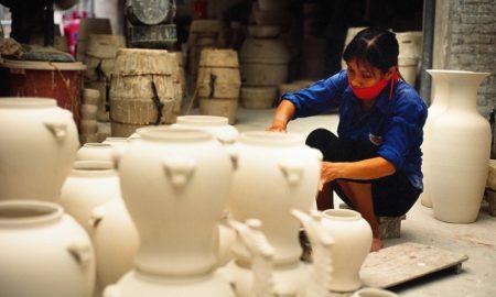 Bat Trang Pottery Village, Hanoi, Vietnam