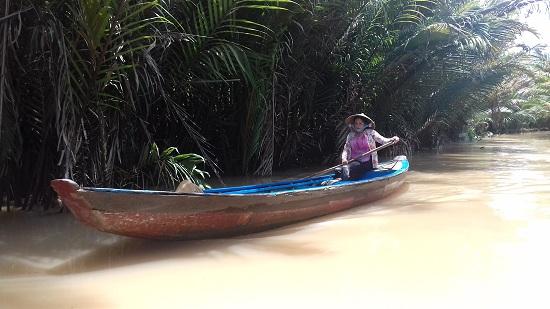 Phung island, Ben Tre, Vietnam