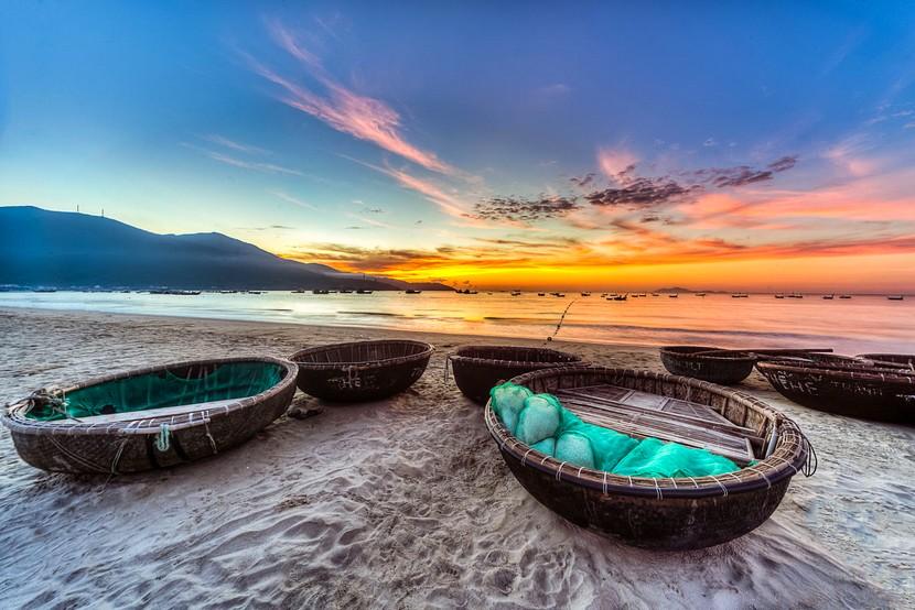 Da Nang Beach in Vietnam